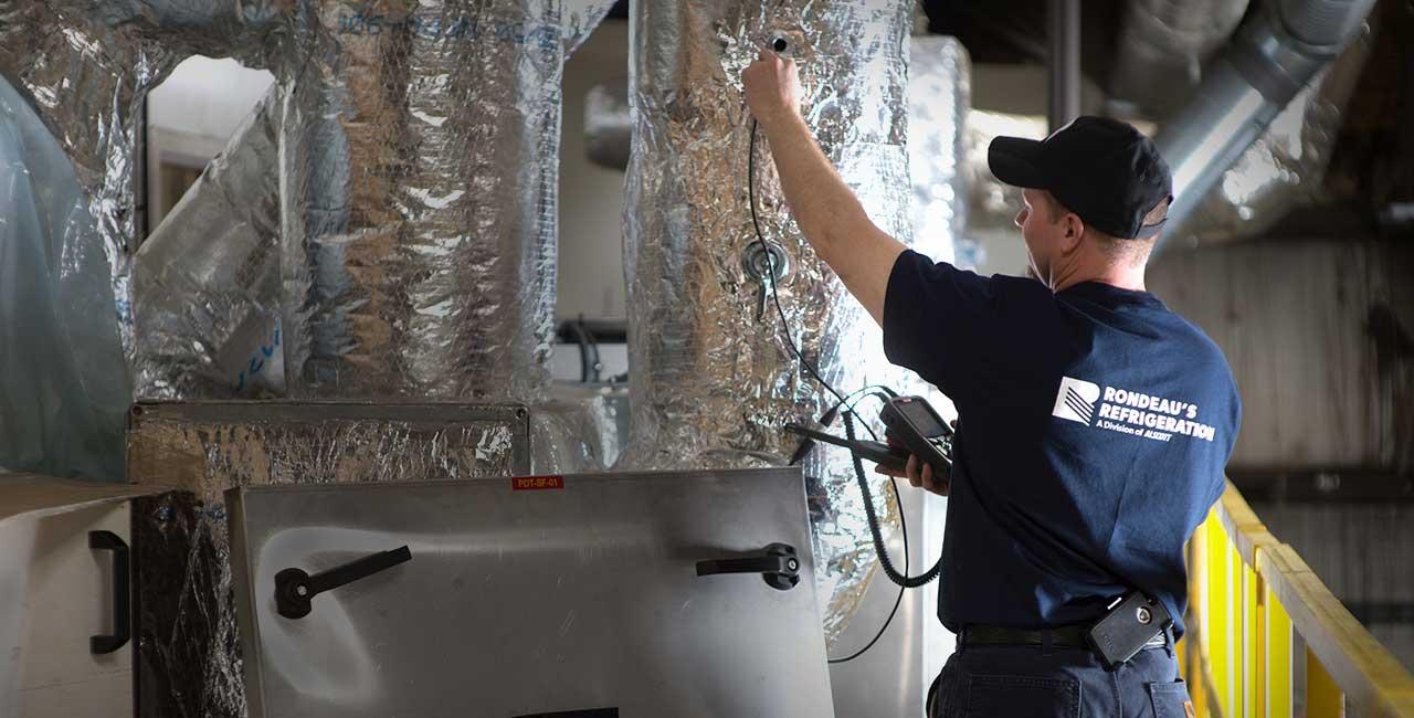 HVAC & R system testing