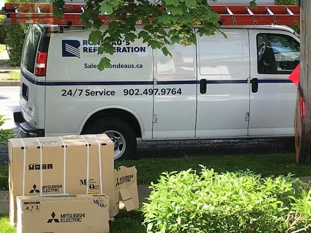 Rondeau's Refrigeration Van